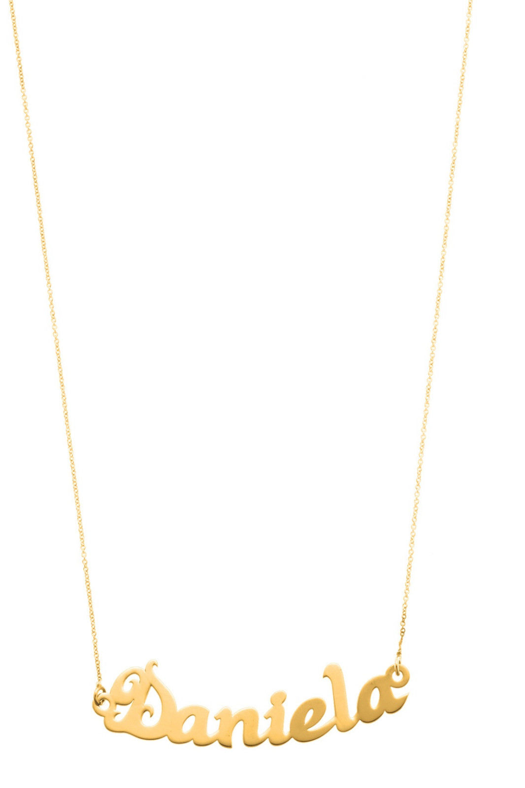COLLANA NOME DONNA MY CHARM ORO 18 kt 35nb02a