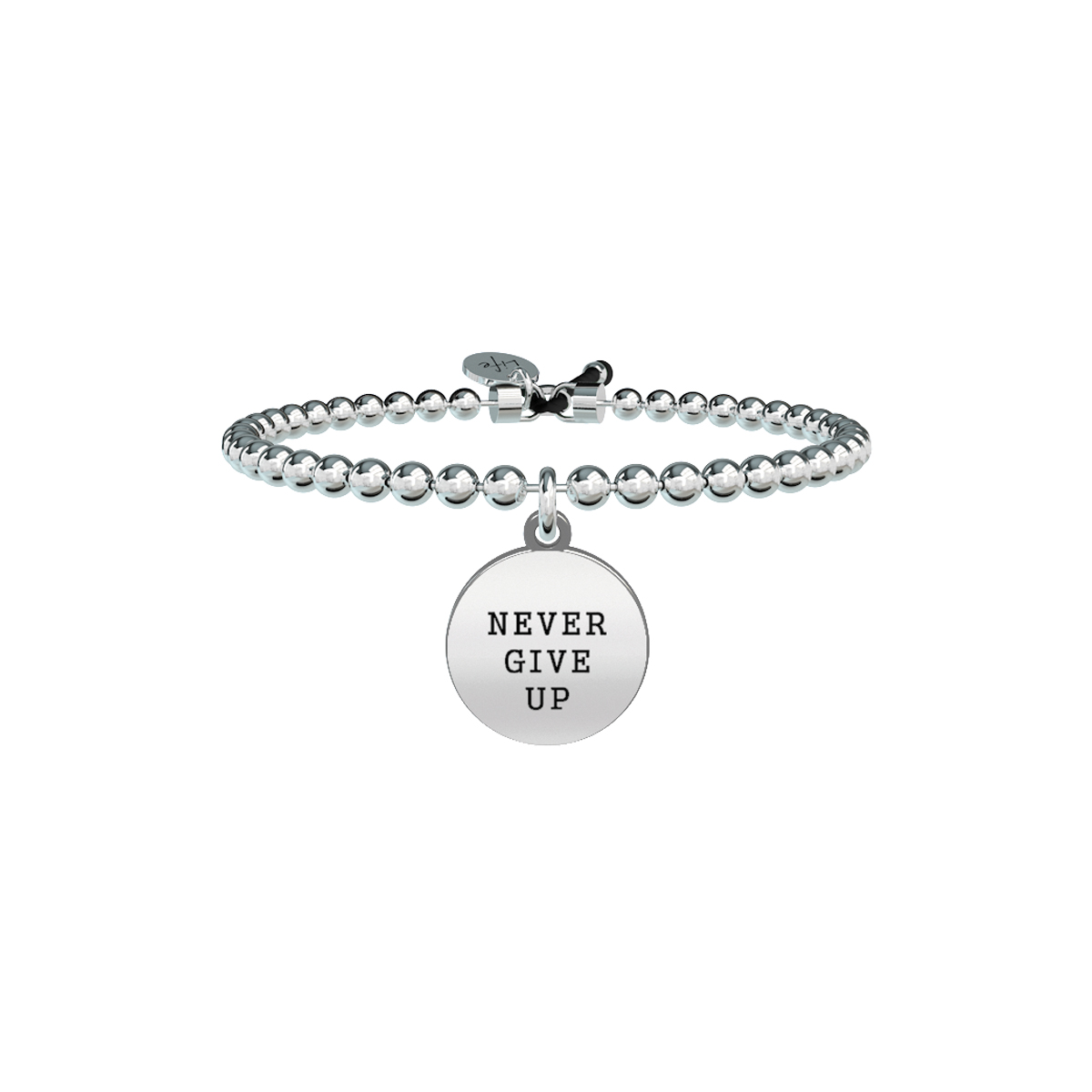 Bracciale KIDULT Philosophy acciaio 316L 731430 Never give up