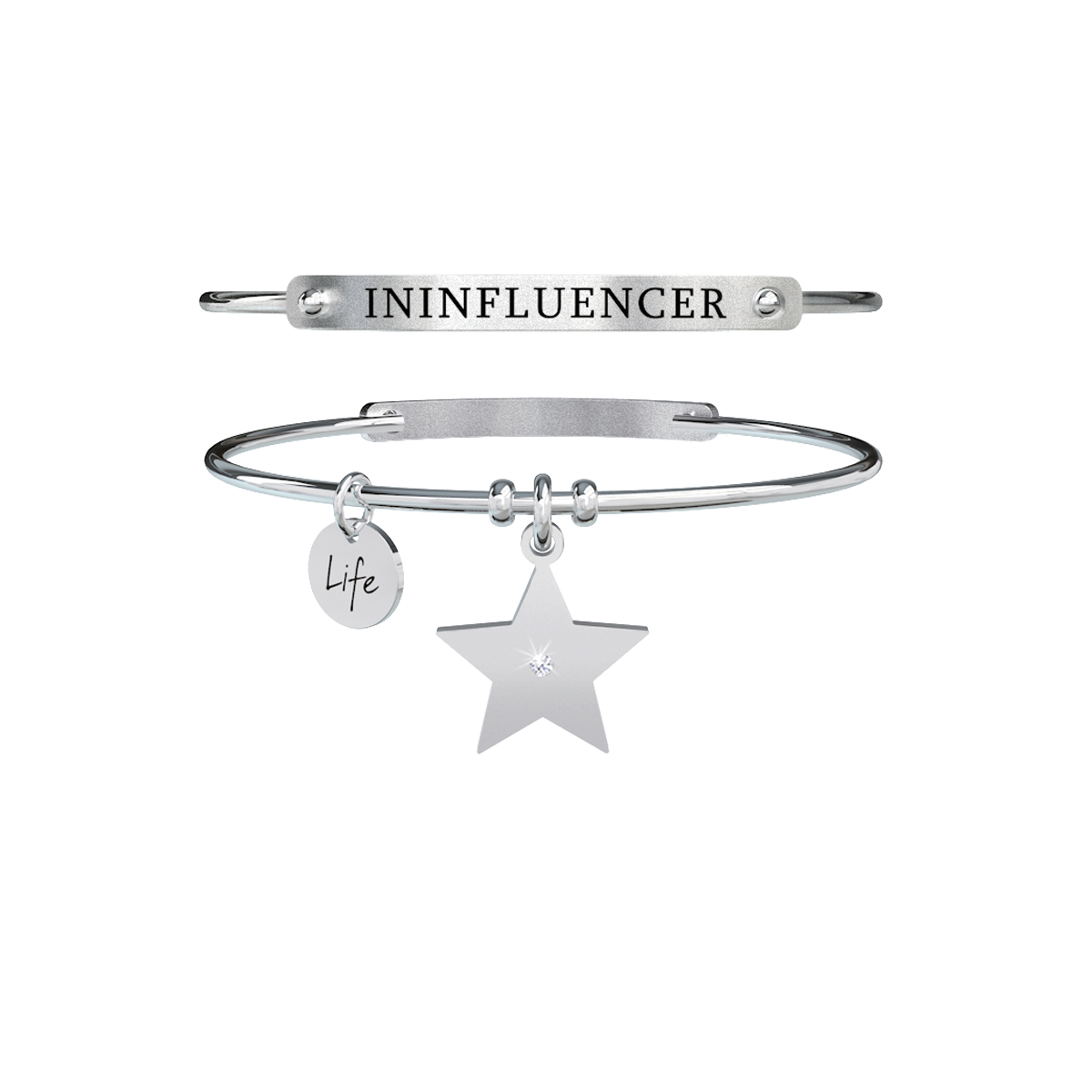Bracciale KIDULT Free time acciaio 316L 731358 ininfluencer