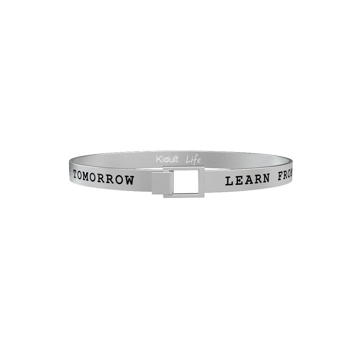 Bracciale KIDULT uomo acciaio 316L 731512 learm from yesterday