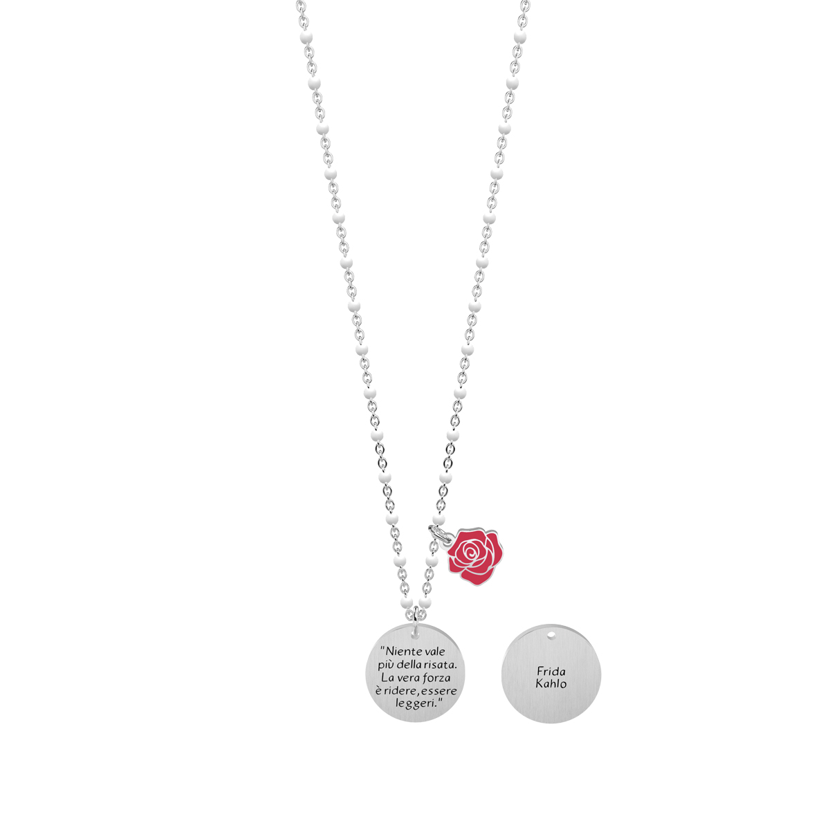 "Collana Kidult 751167 new collection Frida Kahlo ""Niente vale piu..."""
