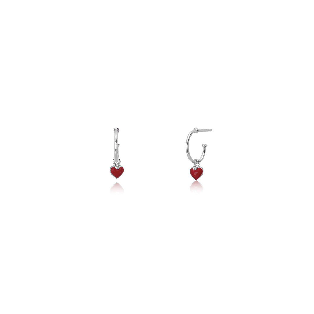 Mabina new collection 563345 orecchini argento e smalto