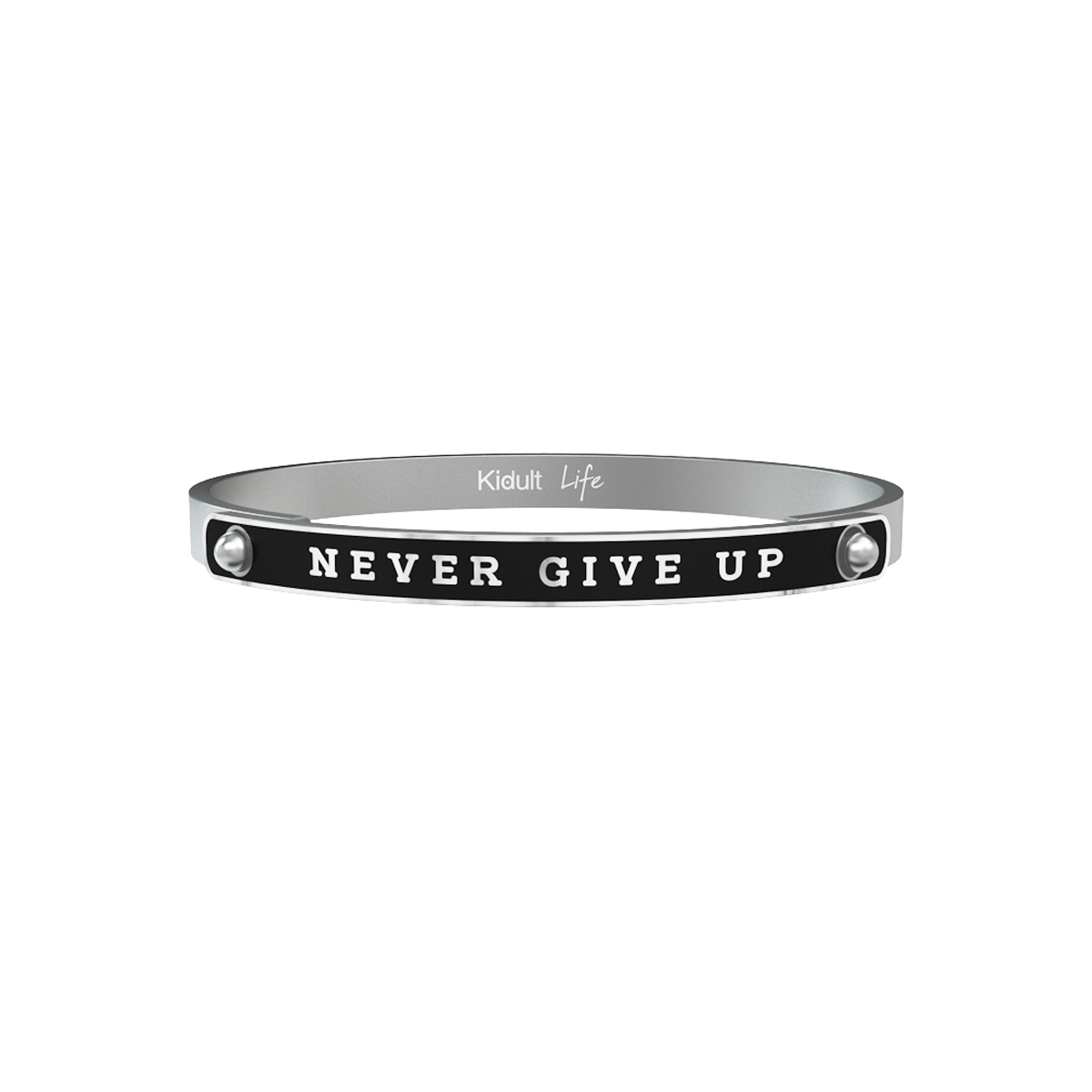 "Kidult 731768L  collection philosophy uomo ""Never give up tenacia."""