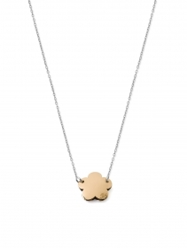 MYCHARM COLLANA DONNA ORO18 KT REF OCH147 fiore double face COLLEZ. I MINI