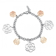 2Jewels Bracciale Donna 231862 Acciaio Collez. Beautiful Garden