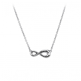 2 jewels collana acciaio 316l 251324 serie endless infinito