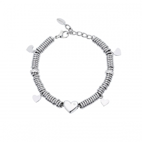 Bracciale 2Jewels EVERYDAY 231756 Acciaio Zirconia