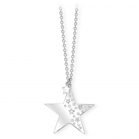 2 jewels outlet collana donna acciaio 251584 collez Like a star
