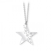 2 jewels outlet collana donna acciaio 251585 collez Like a star