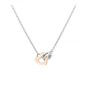 2 Jewels Collana Donna 251503 Acciaio 316L Collez. Link with love