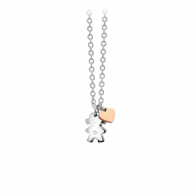 2 jewels outlet collana donna acciaio 251529 collez Puppy