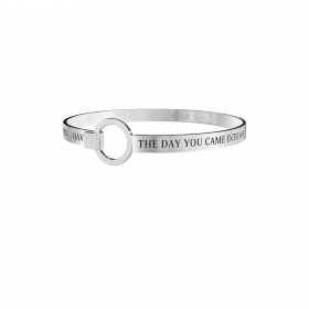 Bracciale KIDULT love acciaio 316L - 731291 THE DAY YOU CAME INTO MY....