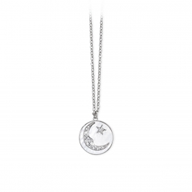 2 jewels outlet 251616 collana acciaio collez Moonlight
