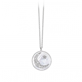 2 jewels outlet 251615 collana acciaio collez Moonlight
