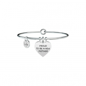 Bracciale KIDULT special moment acciaio 316L 731369 Cuore new mother