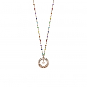 Collana Kidult in Acciaio Today Is A Perfect Day Philosophy 751102