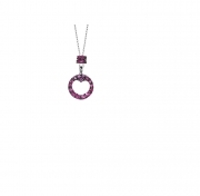 MY Charm Collana ORO Zaffiri rosa ref kc2zr coll Luxury