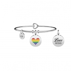 "Kidult 731708 new collection love ""love wins"""
