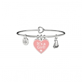 Kidult 731710 bracciale donna Cuore it's a girl