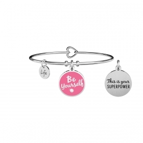 Kidult 731709 bracciale donna  Be yourself