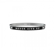 Kidult 731768L  collection philosophy uomo  Never give up tenacia.