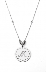 MY CHARM COLLANA DONNA ag4pe40  argento INCISIONE LASER