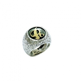 Anello incisione an148 donna argent