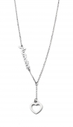 COLLANA DONNA ag2pe37 MY CHARM argento INCISIONE LASER