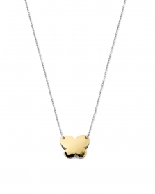MYCHARM COLLANA DONNA ORO18 KT REF OCH151 farfalla double face COLLEZ. I MINI