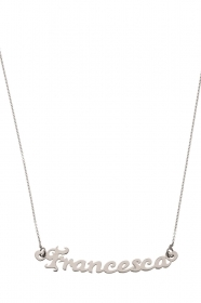 MY CHARM COLLANA DONNA ag2nc02  argento INCISIONE LASER