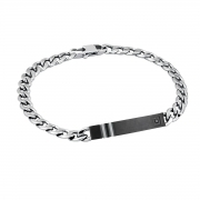 2 jewels 231410 Bracciale uomo in acciaio coll. Herby