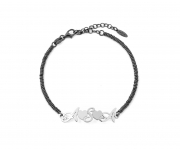 Bracciale Donna/uomo ag5br12 MY CHARM argento  INCISIONE A LASER